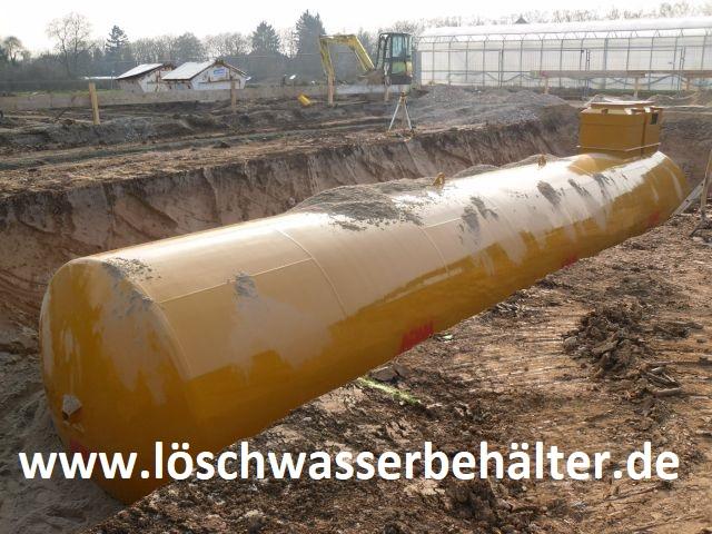 100.000 Liter-Löschwassertank Löschwasserbehälter