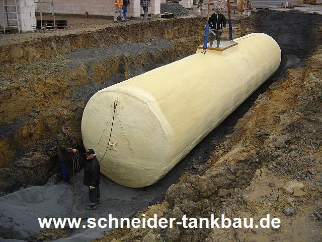 50.000 Liter-Löschwassertank Löschwasserbehälter